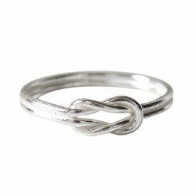 デザインリング(51) メイン ひねり シンプルな指輪 シルバー925 銀 送料無料 おしゃれ メンズ レディース ノットリング 結び目