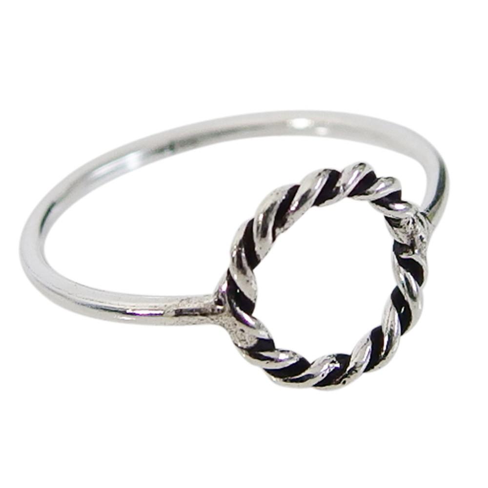 ロープの指輪(4)07号08号09号10号11号12号13号14号15号16号17号18号19号20号21号 メイン シルバー925 銀 レディースメンズ 指輪 リング バレンタイン 2019 送料無料 おしゃれ