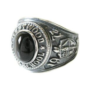 カレッジリング(16)BSメイン 天然石 パワーストーン 指輪 リング シルバー925製 指輪 シルバー925 銀 メンズ 高級感 卒業 記念 カレッジリング 指輪 COLLEGE 送料無料 おしゃれ 天然石 パワースト
