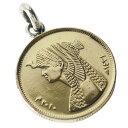本物のエジプトのコインペンダント(1) メイン アフリカ コイン 硬貨 ペンダント ネックレス アクセサリー メンズ レデ…