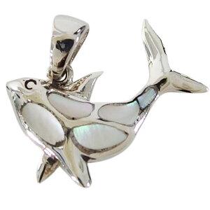 イルカのペンダント(4)白シェル メイン シルバー925 ペンダント 動物 魚 哺乳類 銀 ペンダントトップ ネックレス メンズ レディース 送料無料 おしゃれ かわいい ドルフィンテール ホエールテ