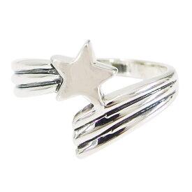 流れ星の指輪(1)メイン シルバー925 銀 メンズ レディース 送料無料 アクセサリー 流星 スター 星 指輪 リング 送料無料 おしゃれ