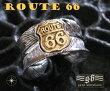 goodvibrations【GV】ルート66フェザーリング(1)SV+B17号フリーサイズ/(メイン)(新品529)羽根フェザーリング指輪シルバー925・銀送料無料