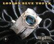 goodvibrations【GV】ロンドンブルートパーズフェザーリング(2)11号フリーサイズ/(メイン)(新品529)羽根フェザーリング指輪シルバー925・水色天然石銀送料無料