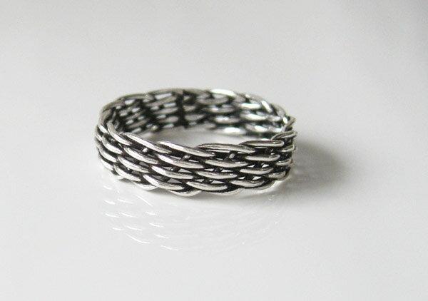 デザインリング(20)10号・11号・12号・13号・16号・18号/【メイン】シルバー925銀指輪・シンプル
