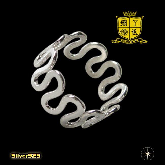 デザインリング(38)12号・14号・16号・18号/【メイン】シルバー925銀指輪・シンプル送料無料!