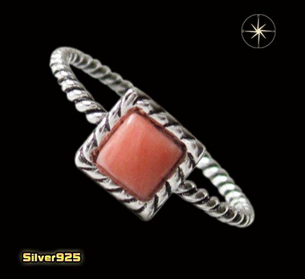 今だけ!デザインリング(40)ピンク07号・09号・11号・13号・15号・17号/【メイン】天然石・シンプルな指輪・シルバー925銀送料無料!