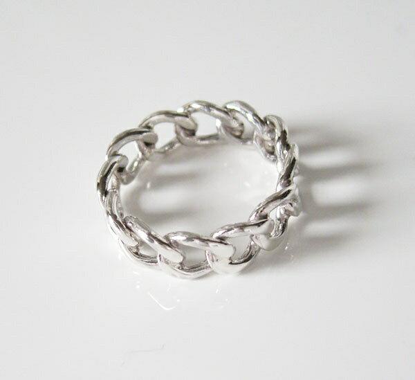 デザインリング(54)05号・07号・09号・11号・13号・15号・17号・19号・21号・23号・25号/【メイン】喜平チェーン・シンプルな指輪・シルバー925銀