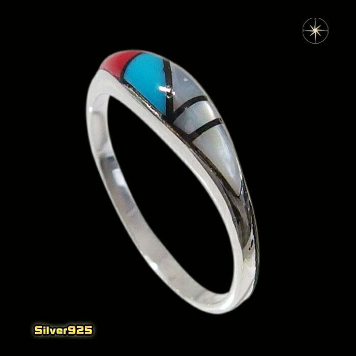 マルチストーンリング(1)09号・10号・11号・12号・13号・14号・15号・16号・17号・18号・19号・20号・21号(メイン)シルバー925製/銀/ターコイズ天然石パワーストーン指輪メンズ・レディース送料無料アクセサリー
