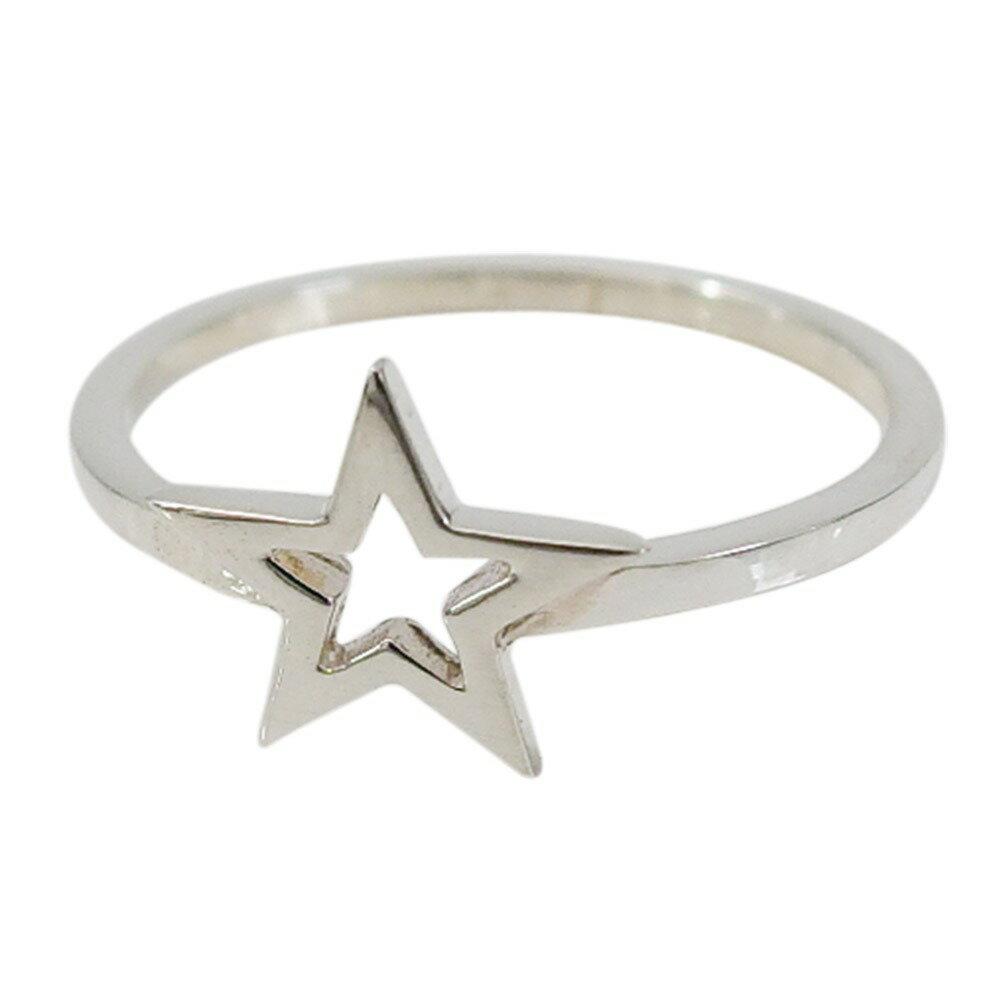 スターリング(19)11号・16号(メイン) シルバー925 銀 メンズ レディース 送料無料 アクセサリー スター 星 指輪 リング