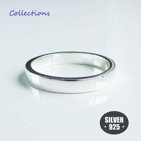 シンプル 平打ち リング (1)3.5mm幅 メイン リング 指輪 シンプル シルバー925 銀 送料無料 メンズ レディース ユニセックス