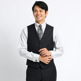 オルタネイトシャドーストライプスーツ Fabric by DORMEUIL/タケオキクチ