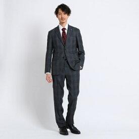 グレンチェックスーツ Fabric by MIYUKI Bemback(R)/タケオキクチ