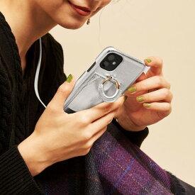 【予約】【WEB限定】<Hashibami>レザーダブルリングiPhone X/XS/11Pケース /ビューティ&ユース ユナイテッドアローズ
