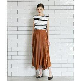 《INED CLARO》カットプリーツスカート/クリアインプレッション