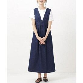 WEB限定/Vネックジャンパースカート/ナノ・ユニバース