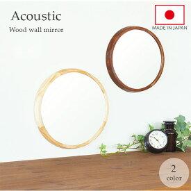 Acoustic アコウスティック ウッドウォールミラー/バックヤードファミリー