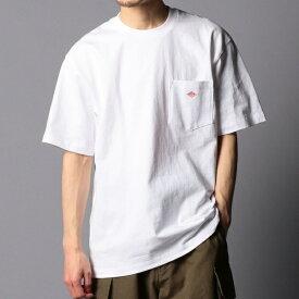 【DANTON/ダントン】JD−9041 SOLID Tシャツ ポケT/ノーリーズ