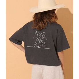 刺繍クロップドTシャツ/アナップ