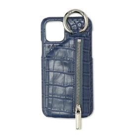 ajew/エジュー/Croco iPhone Case 11Pro(X Xs共通対応サイズ)/ロイヤルフラッシュ