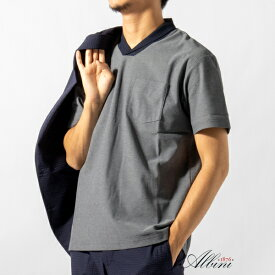 ALBINI(アルビニ) カノコ ショールカラー ポロシャツ/ノーリーズ