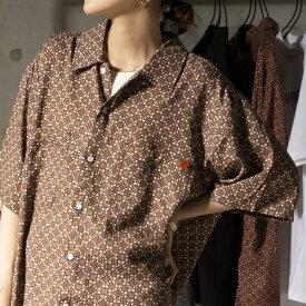 【UNIVERSAL OVERALL】オープンカラーシャツ #U2113168−B/ノーリーズ