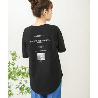 メッセージロゴアートTシャツ/センスオブプレイスバイアーバンリサーチ