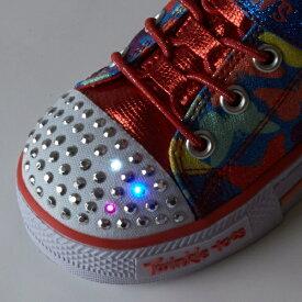 SHUFFLES - BUTTERFLY FOOT 光るスニーカーをバースデープレゼントに!/スケッチャーズ(キッズ)(SKECHERS)【スポーツ】