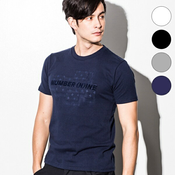 NUMBER (N)INE DENIM(ナンバーナインデニム) パッチワークデザインTシャツ/ナンバーナイン デニム(NUMBER(N)INE DENIM)