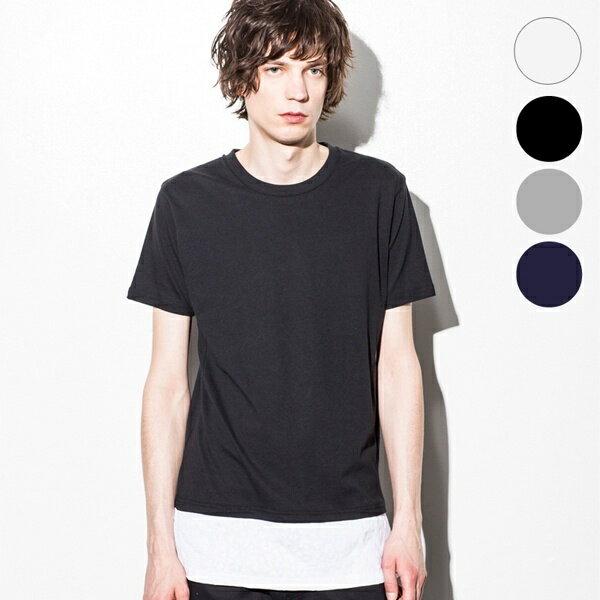 NUMBER (N)INE DENIM レオパードパターン スリットレイヤードTシャツ/ナンバーナイン デニム(NUMBER(N)INE DENIM)