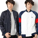 【17SS】REVERSIBLE BOMBER TRACK JACKET/フレッドペリー(メンズ)(FRED PERRY)