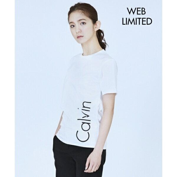 【2017春のWEB限定】Calvin Logo ロゴTシャツ/カルバン・クライン ウィメン(Calvin Klein women)