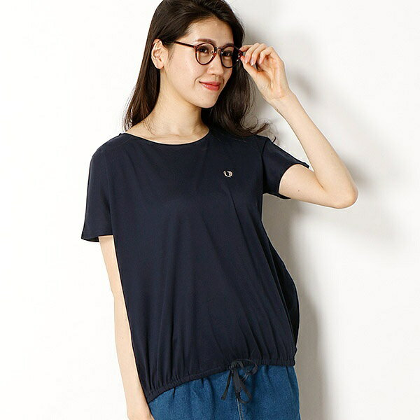 【18SS】PIQUE T-SHIRT/フレッドペリー(レディス)(FRED PERRY)
