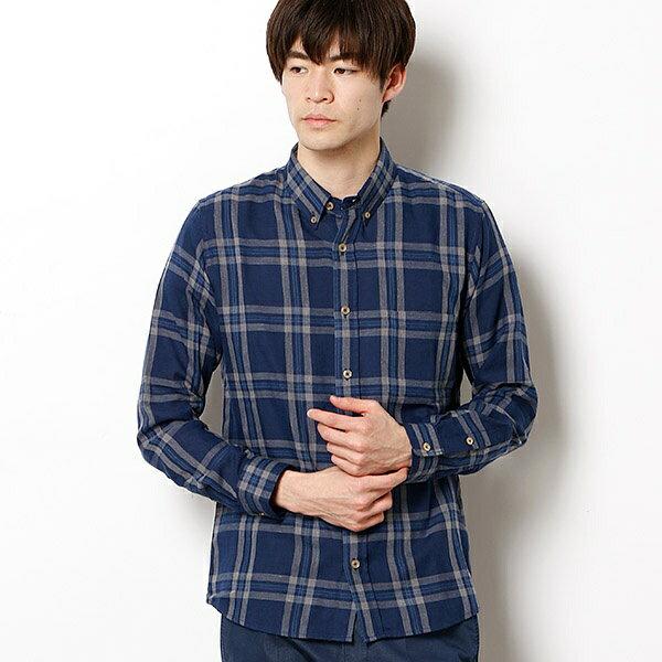 WガーゼBDシャツ/メンズメルローズ(MEN'S MELROSE)