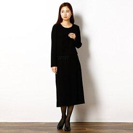 日本製/ブラックフォーマル/スカーチョパンツスーツ/9号/13号/ドレスデコ(dress deco)