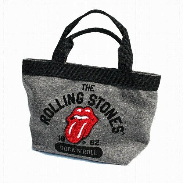 COLLEGE LOGO テープハンドルミニトート/ローリングストーンズ(The Rolling Stones)