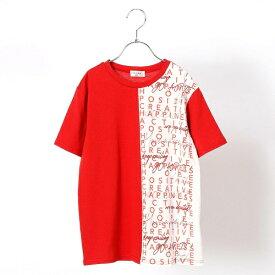 98c5a1c4d2f6c  Jrサイズ フロント切替半袖Tシャツ/コムサフィユ(COMME CA FILLE)