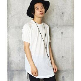 ロング丈カットソー ロングカットソー ロングTシャツ/アンリラクシング(unrelaxing)