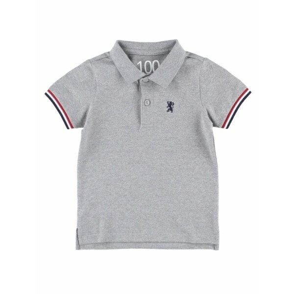 【家族お揃い】KIDSチビライオン刺繍ポロシャツ/ジョルダーノ(メンズ)(GIORDANO)