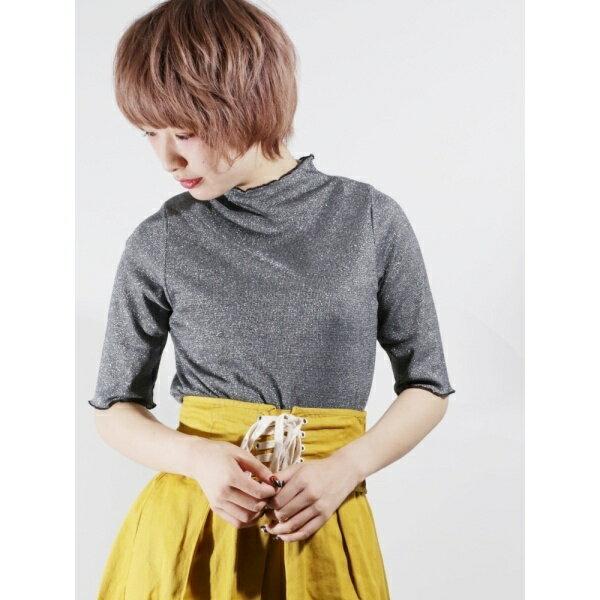 ウィゴー(WEGO/ハイネックフリルTシャツ)/ウィゴー(レディース)(WEGO)