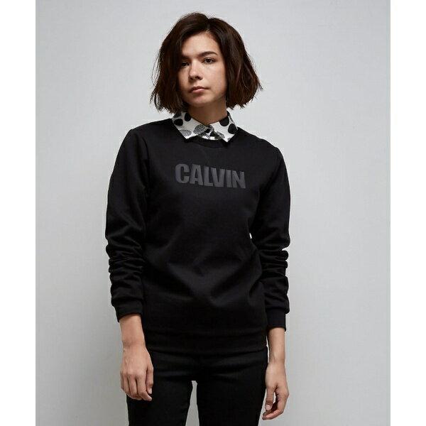【2017AW新作】コットンロゴグラフィック スウェット/カルバン・クライン ウィメン(Calvin Klein women)