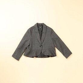 3b15a10740614 グレンチェックジャケット(110〜130cm)/コムサイズムキッズ(COMME CA ISM)
