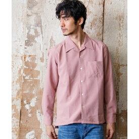 トロワッシャーオープンシャツ/モルガンオム(MORGAN HOMME)