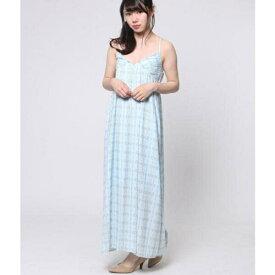 フェイク刺繍柄ロングワンピース/アウリィ(AULI)