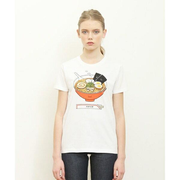 【ユニセックス】ベーシックTシャツ/ラーメンクン/グラニフ(graniph)
