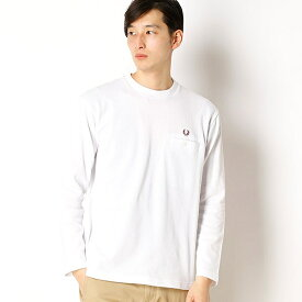 【18SS】PIQUE L / S T-SHIRT/フレッドペリー(メンズ)(FRED PERRY)