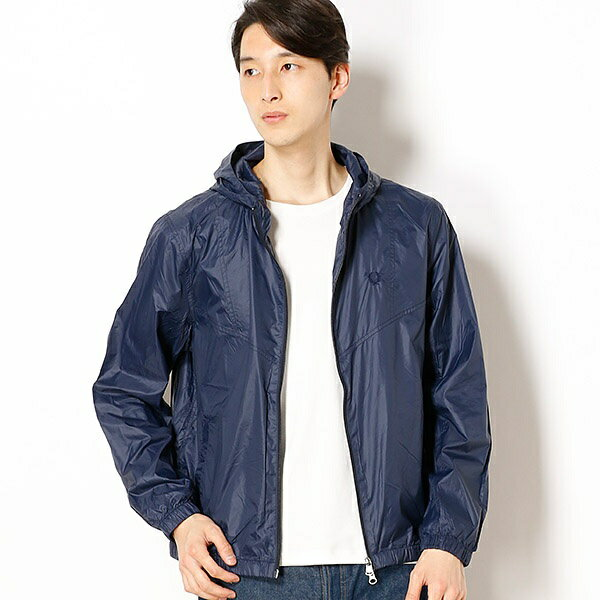 【18SS】PACKABLE HOODED JACKET/フレッドペリー(メンズ)(FRED PERRY)