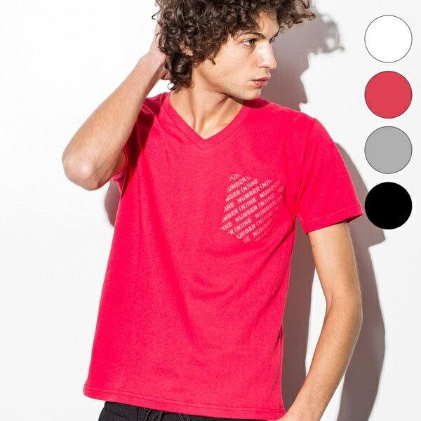 NUMBER (N)INE DENIM(ナンバーナインデニム) ロゴパターンプリントポケットTシャツ/ナンバーナイン デニム(NUMBER(N)INE DENIM)