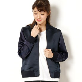 【18SS】BOMBER JACKET/フレッドペリー(レディス)(FRED PERRY)