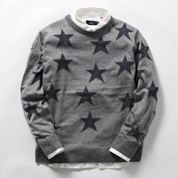 SU: STAR リンクスニット/シップス(メンズ)(SHIPS)